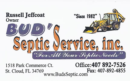 Bud's Septic Service