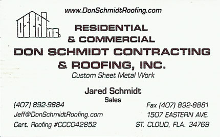 Don Schmidt Roofing